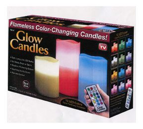 Because one minute you may want a red candle and the next, you may really want it to be blue.